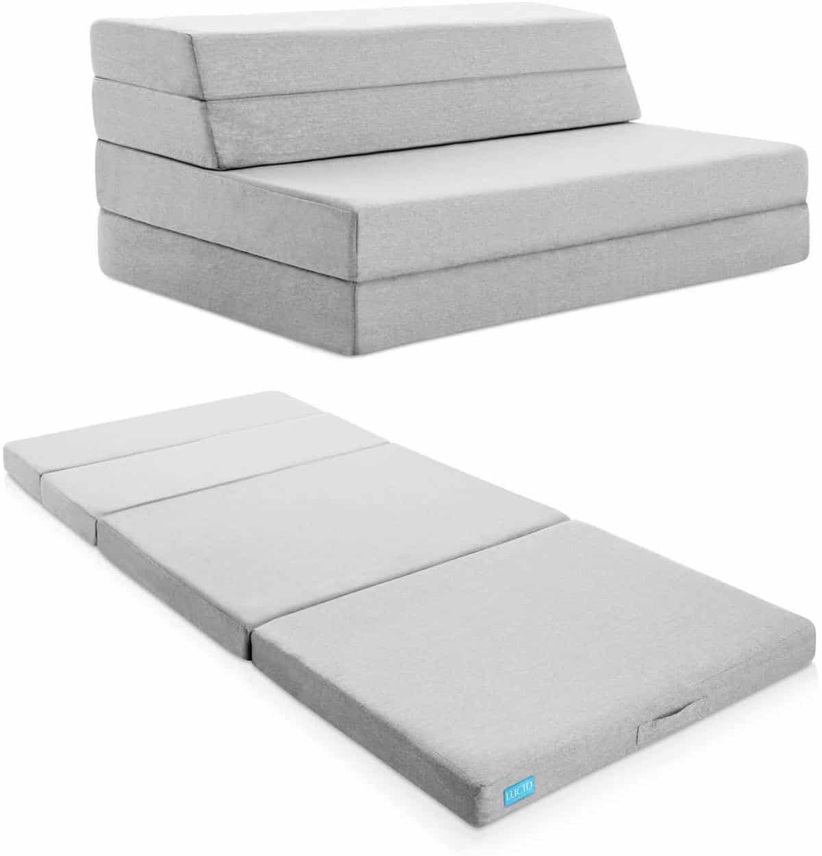 Lucid Folding Mattress and Sofa