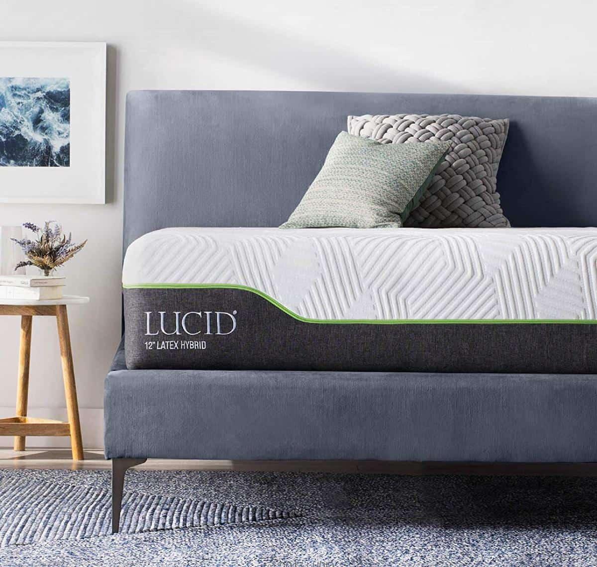 Lucid Hybrid Latex Mattress